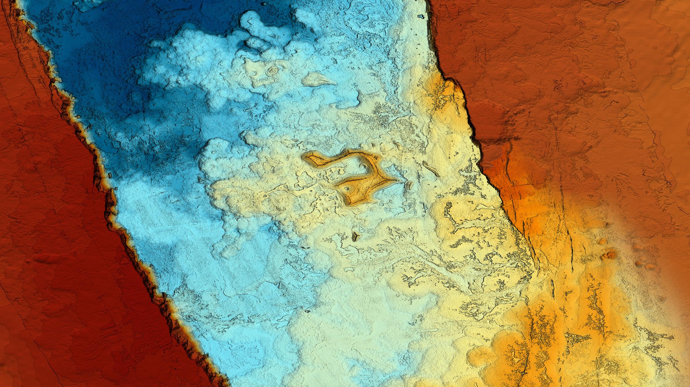 caldera-gradient